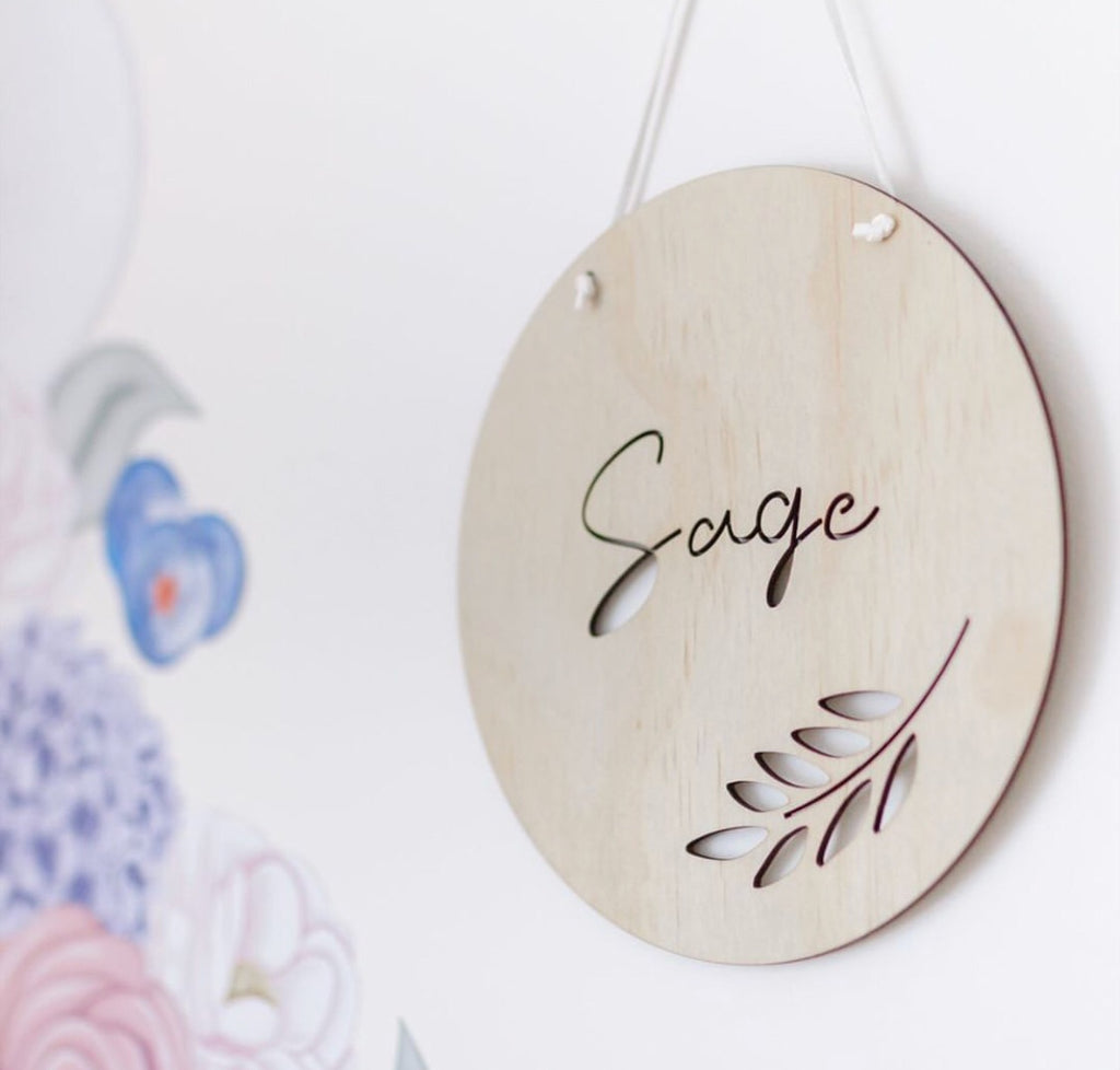 Vine Personalised Wall Mate - Ava & Harper co
