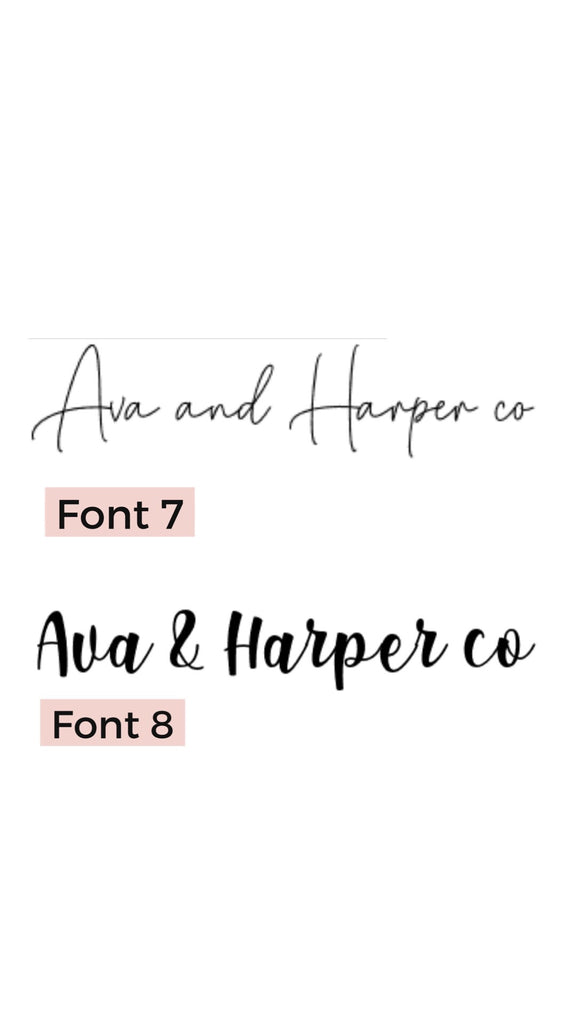 Personalised Name Wall Mate - Ava & Harper co