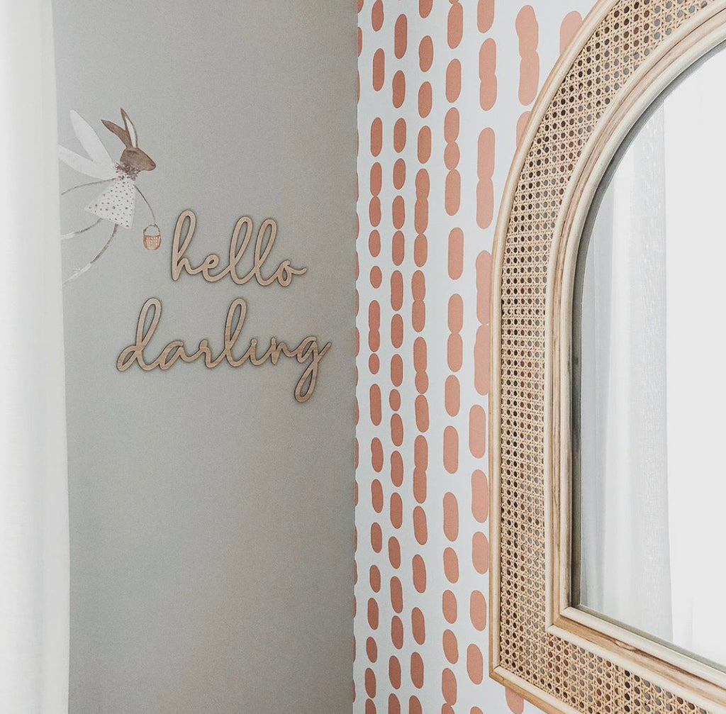 Hello Darling Wall Mate - Ava & Harper co