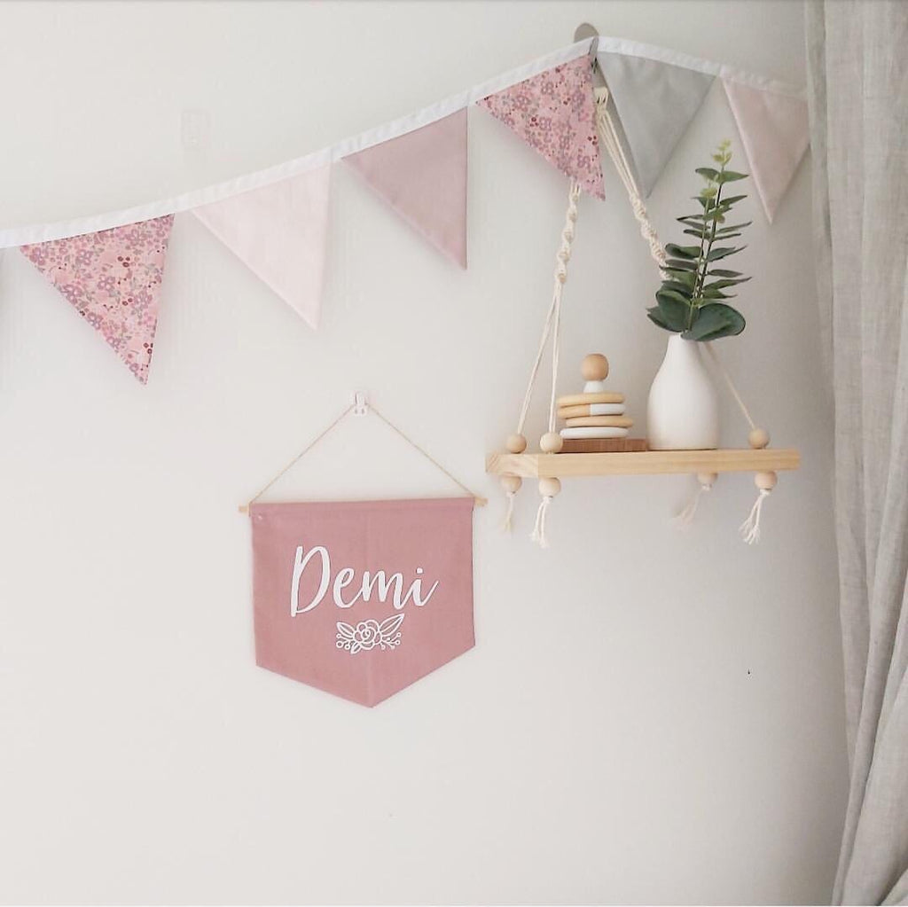 Fabric Bunting - Ava & Harper co