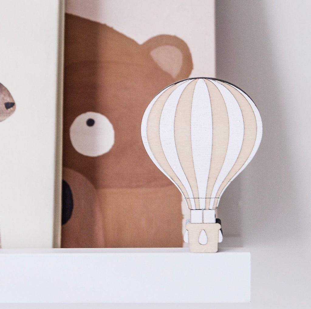 Wooden Hot Air Balloon - Ava & Harper co