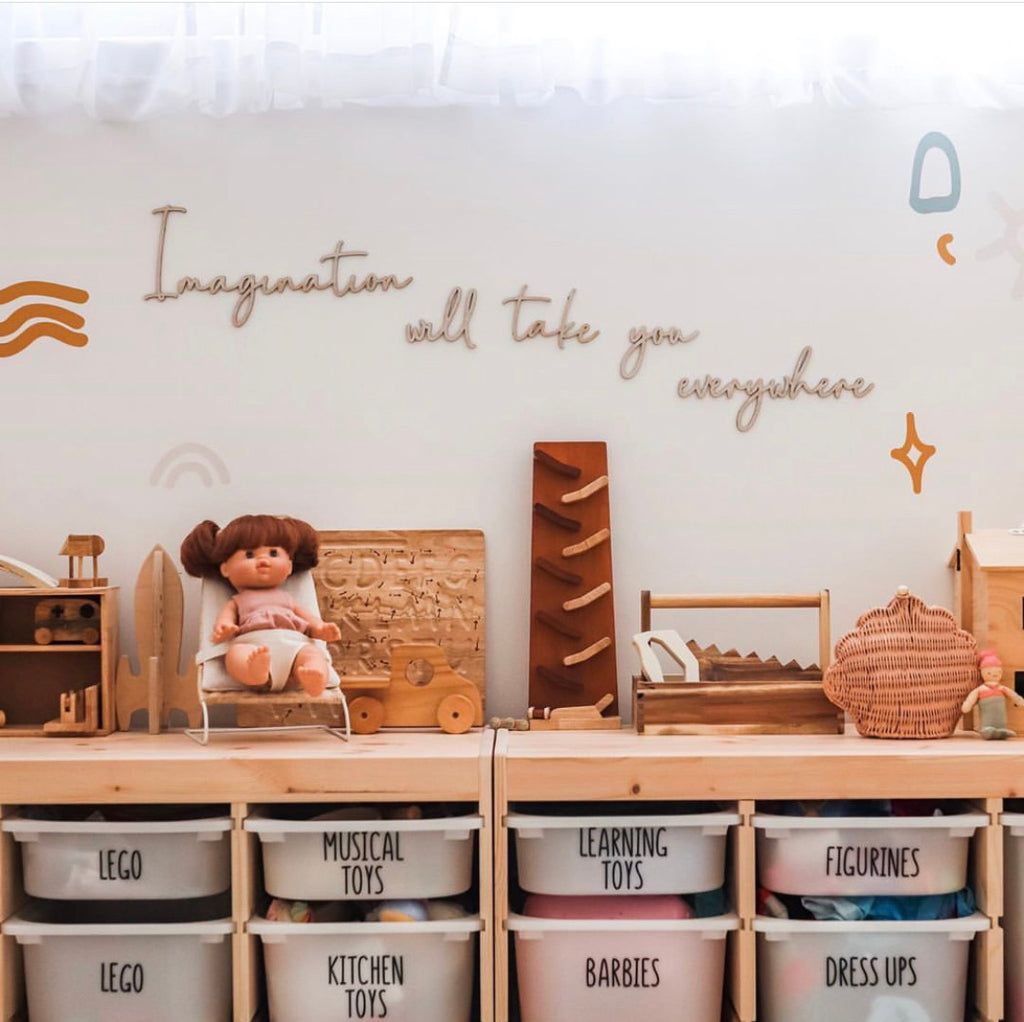Imagination will take you everywhere Wall Mate - Ava & Harper co