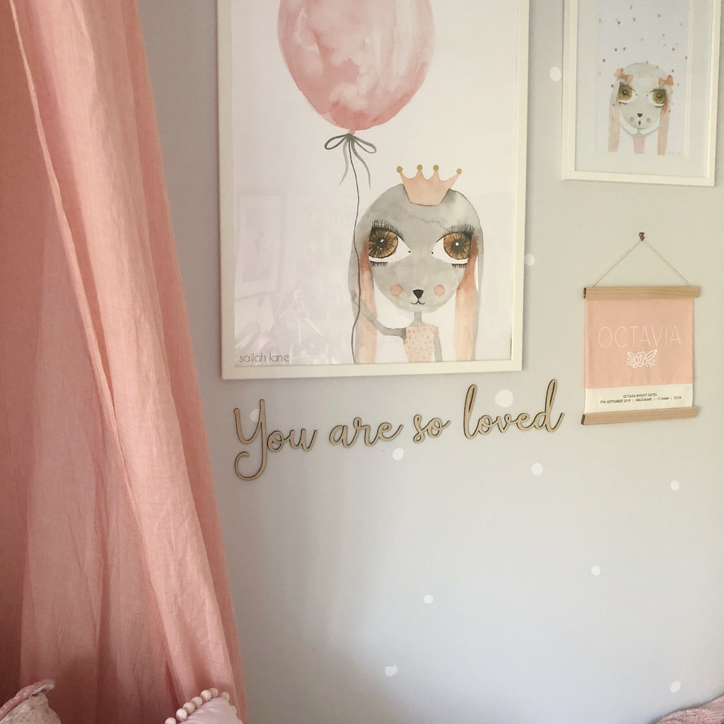 You Are So Loved Wall Mate - Ava & Harper co