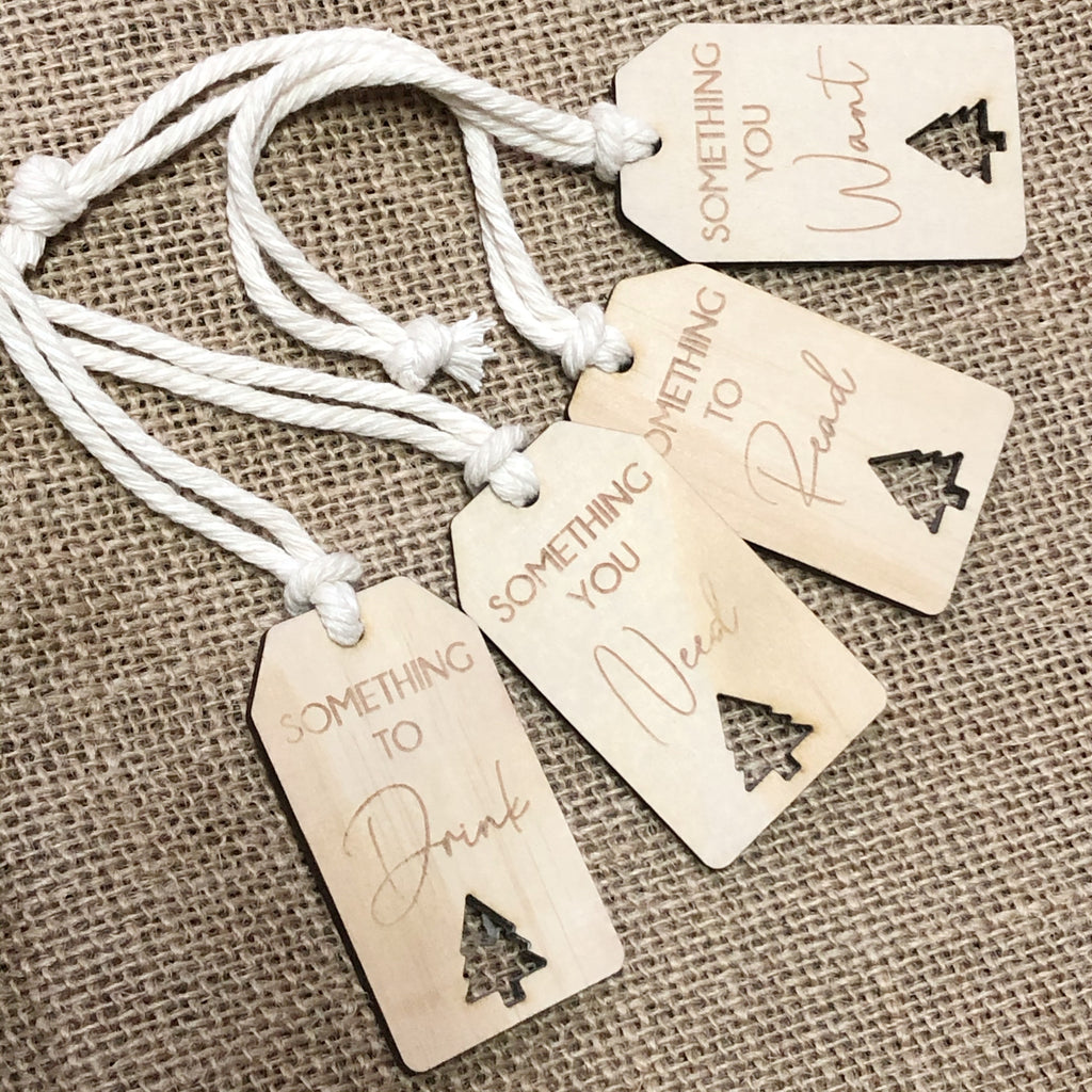Something to/you gift tags - Ava & Harper co