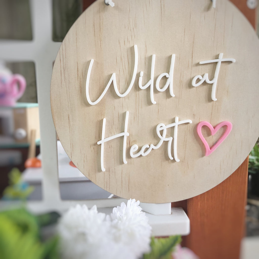Wild at Heart Wall Mate - Ava & Harper co