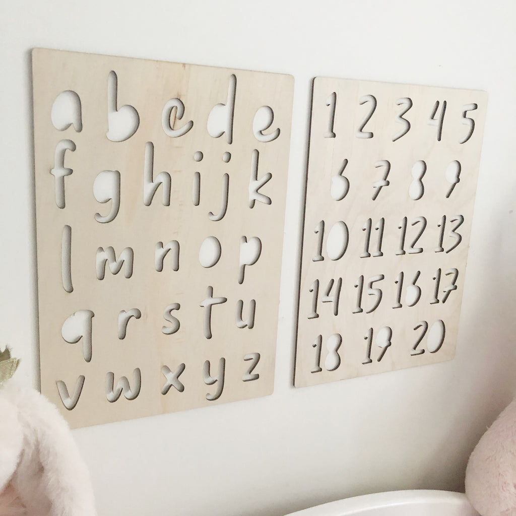 A4 Numbers Wall Mate - Ava & Harper co