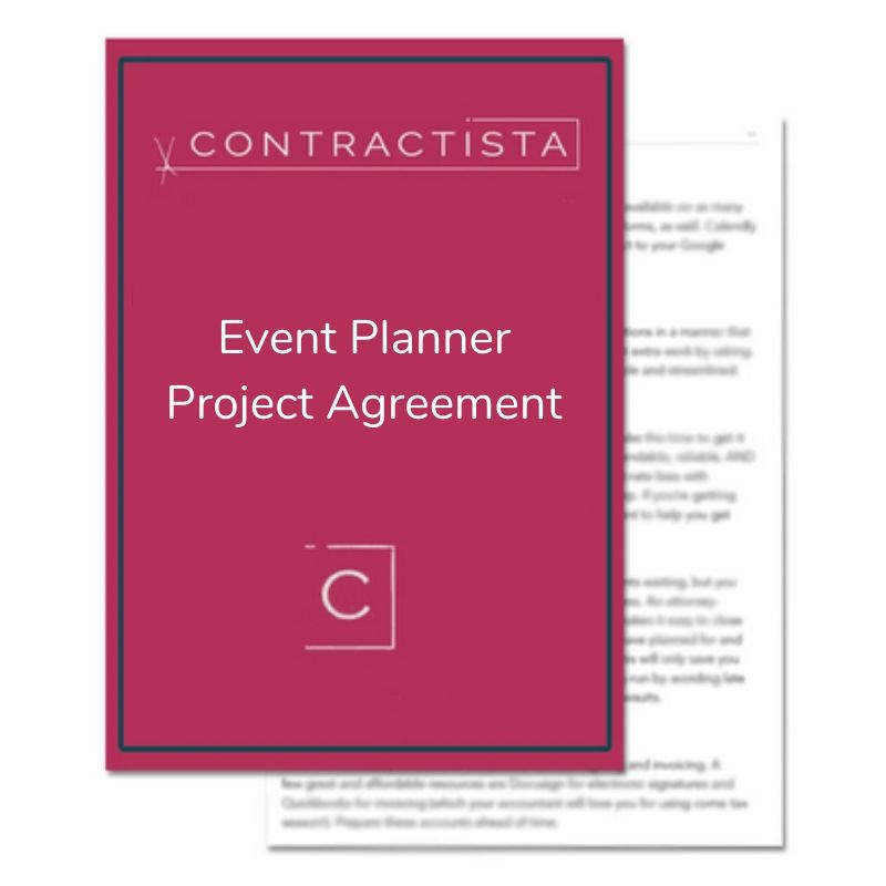 Event Planner Project Agreement