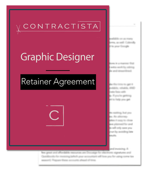 Graphic Designer Retainer Agreement Template