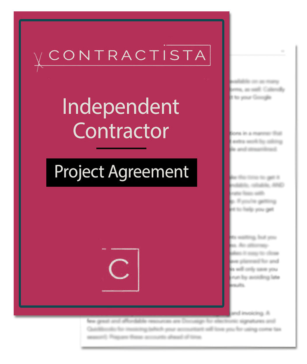 Independent Contractor Project Agreement Template