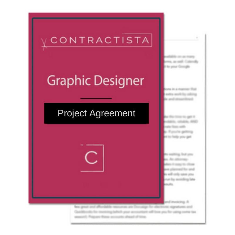 Graphic Designer Project Agreement Template