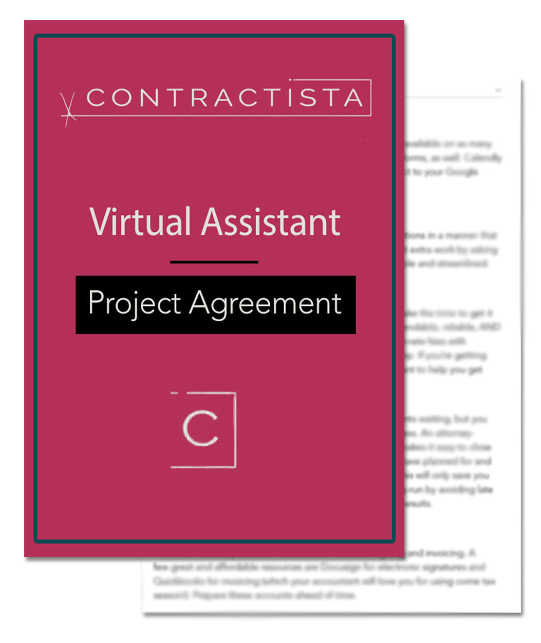 Virtual Assistant Project Agreement Template