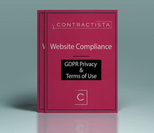 Website Policy Bundle: GDPR Privacy Policy and Terms of Use