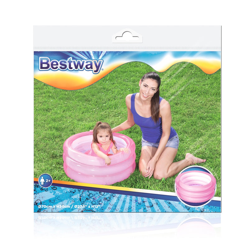 Piscina Inflable para Bebé Bestway Kiddie Pool 70 x 30 cm, 43 Lts.