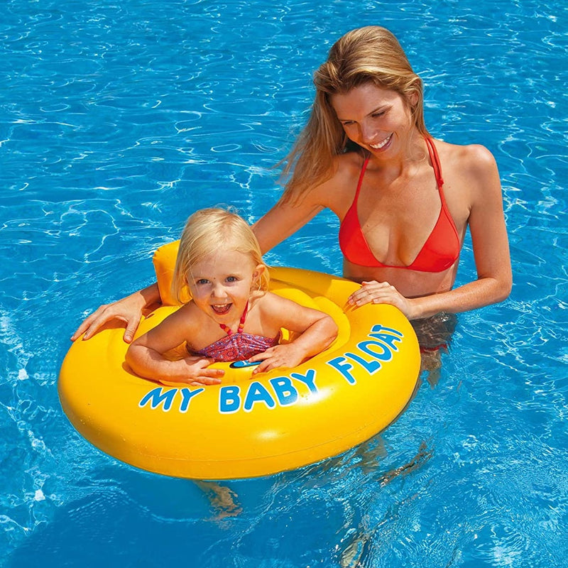 Flotador Inflable Circular para Bebé Intex My Baby Float 70cm