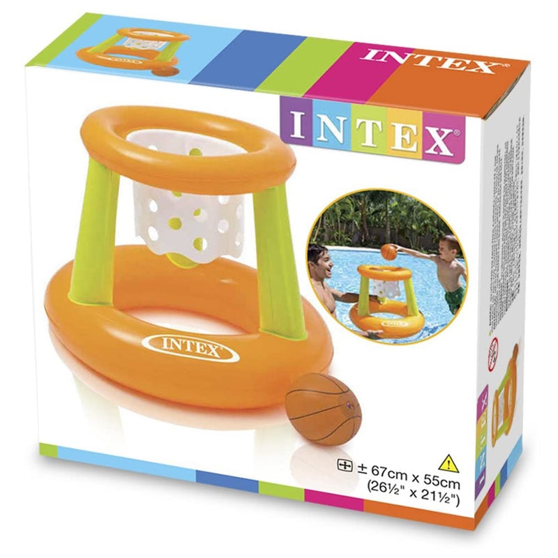 Aro de Basketball Inflable para Piscinas Intex 67cm x 55cm