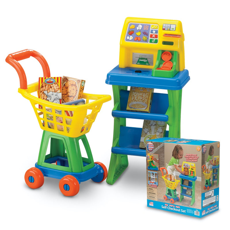 Set Juego Carrito de Supermercado American Plastic My Very Own Self-Checkout