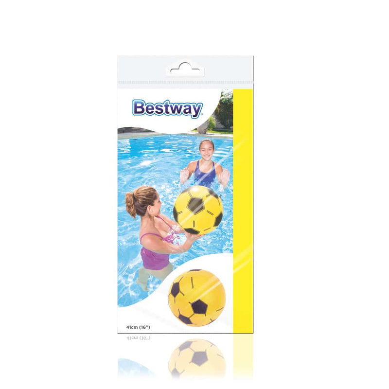 Bestway Pelota Inflable Playa 41 CM, Amarillo