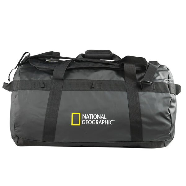 National Geographic Bolso Travel Duffle 80 Litros, Negro