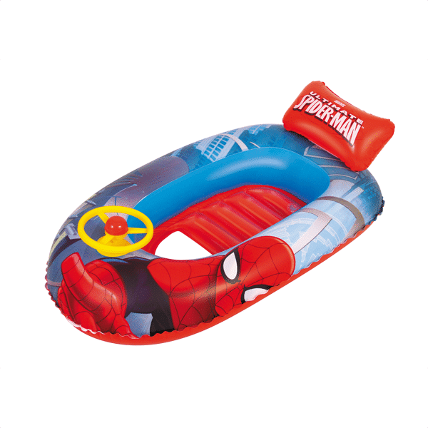Bestway Bote Inflable Spiderman Beach Boat 1.12 M X 71 CM