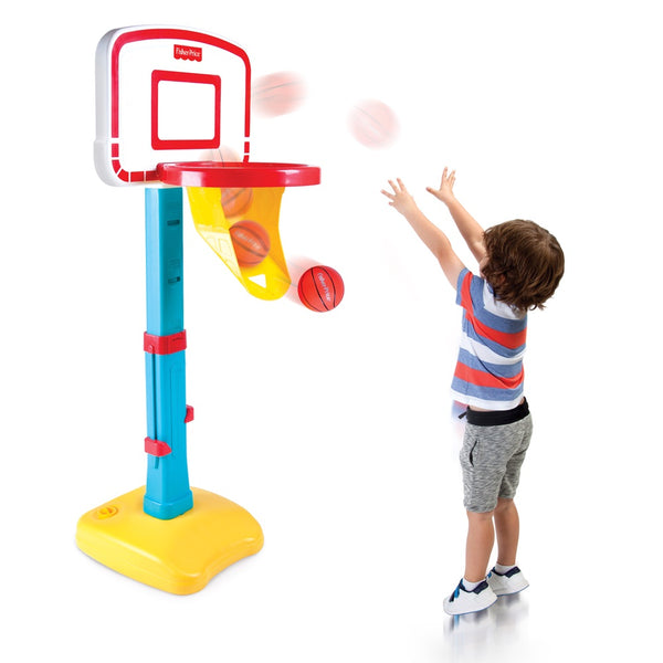 Baloncesto Ajustable Fisher-Price Jump 'n Dunk