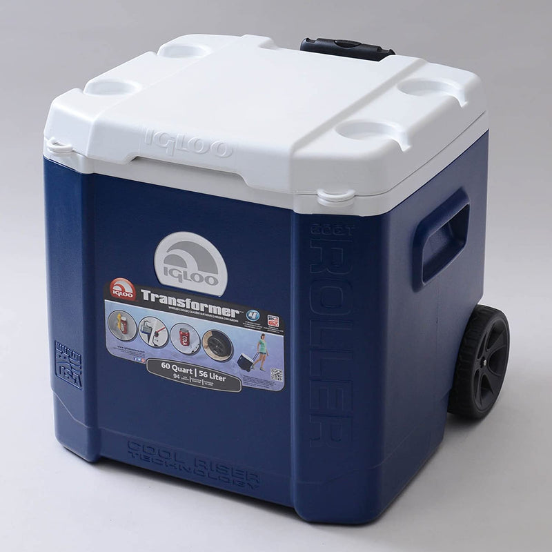 Cooler Igloo Transformer con Ruedas 56 Litros