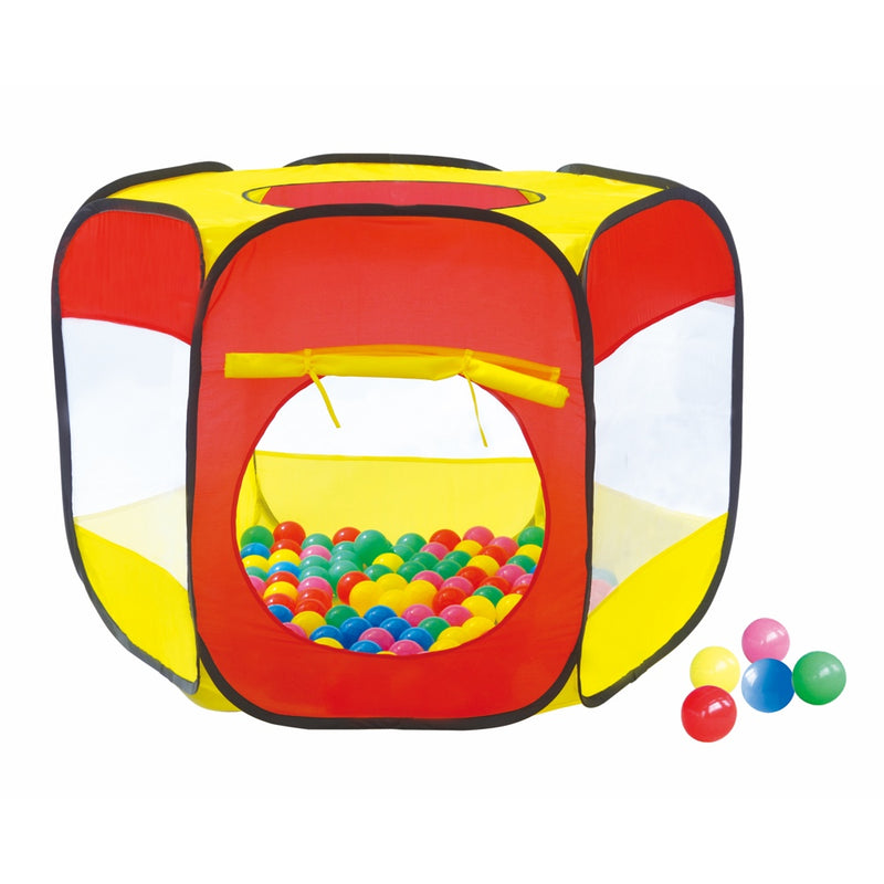 Game Power Corral de Juegos con 100 Pelotas