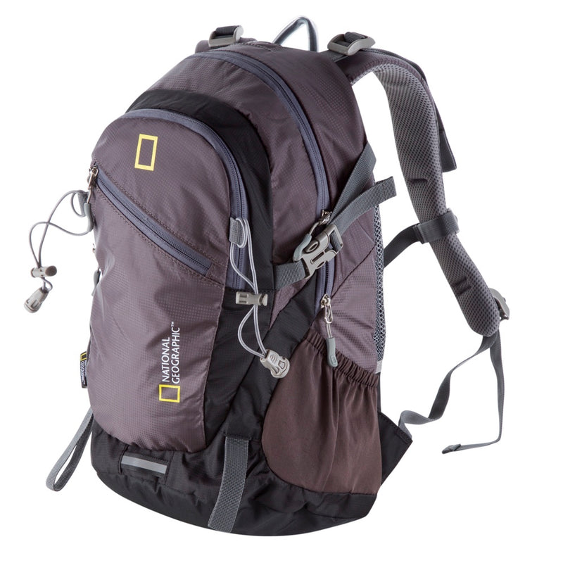 National Geographic Mochila Outdoor Backpack 20 Litros, Gris