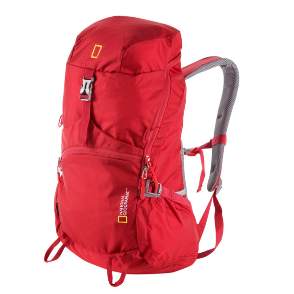 National Geographic Mochila Outdoor Backpack 25 Litros, Roja