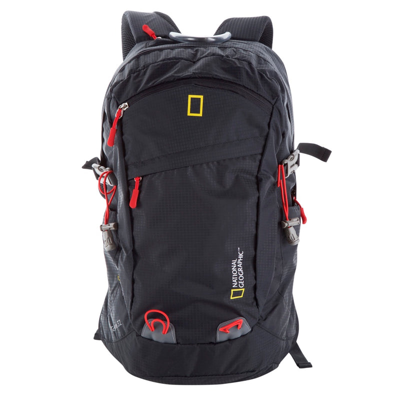 National Geographic Mochila Outdoor Backpack 32 Litros, Negro