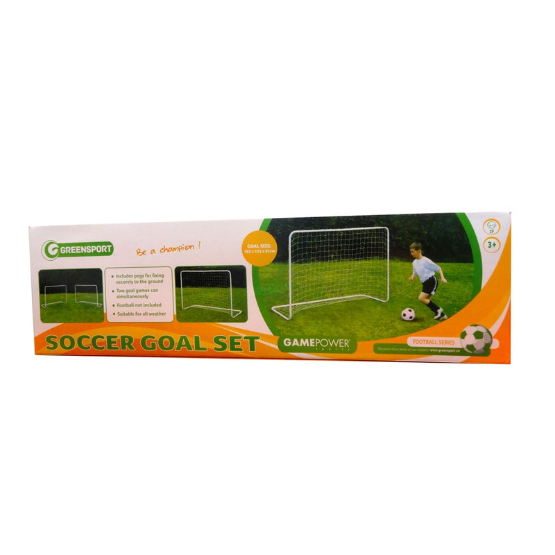 Game Power Arco de Futbol 182 x 122 x 61 cm, Acero