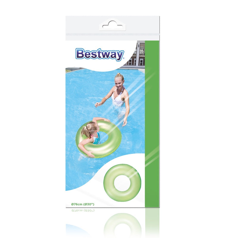 Flotador Inflable Bestway Anillo Neon 76cm