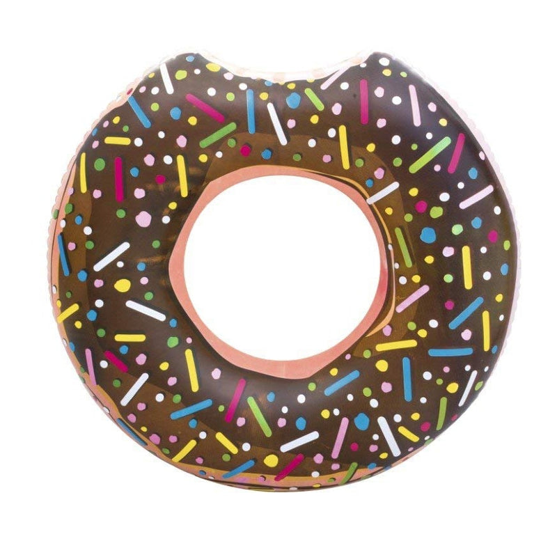 Bestway Flotador Inflable Anillo Donut, Chocolate