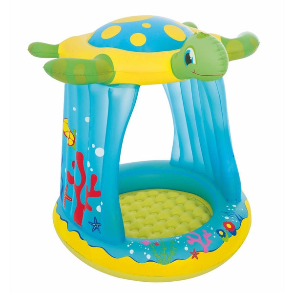 Bestway Piscina Inflable Tortuga con Techo