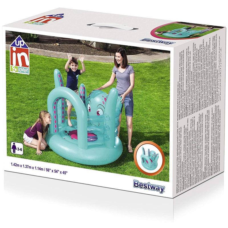 Gimnasio Inflable Bestway Up In & Over Trampolín Pulpo