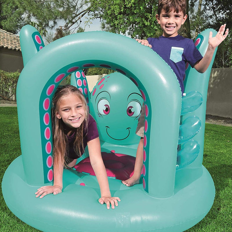Bestway Gimnasio Inflable Up In & Over Trampolín Pulpo