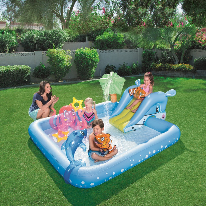 Piscina Inflable Centro de Juegos Bestway Play Aquarium