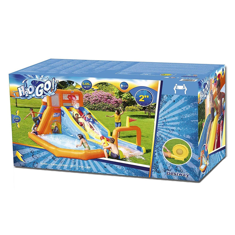 Bestway Mega Parque Acuático Inflable Tsunami Waves Summit H2OGO!