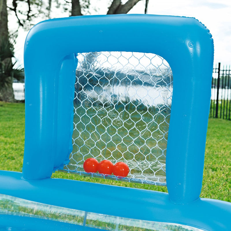 Piscina Inflable con 2 Porterías Bestway Skill Shot 2.37 m x 1.52 m x 94 cm