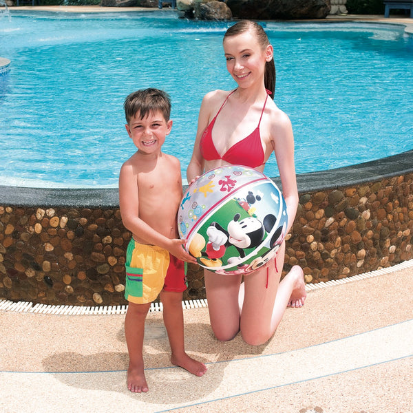 Bestway Pelota Inflable Playa 51cm, Mickey & Minnie