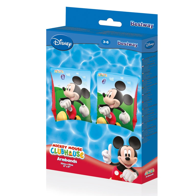 Bestway Alitas Inflables Mickey Mouse 23cm x 15cm