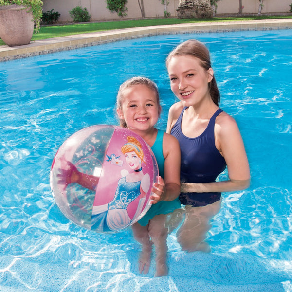 Bestway Pelota Inflable Playa Princesa Disney 51cm