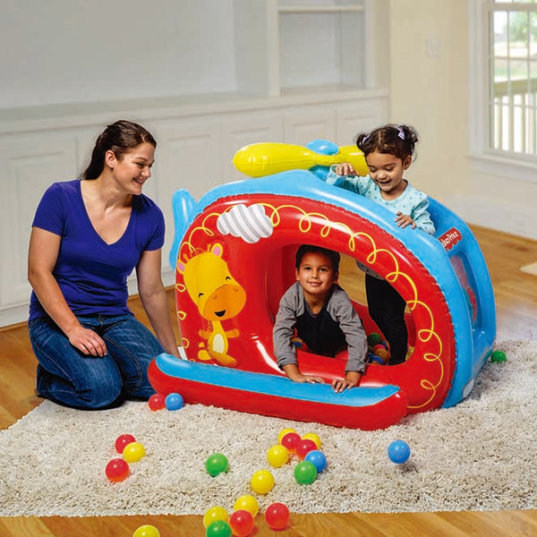 Fisher Price Centro de Juegos Helicopter Ball Pit