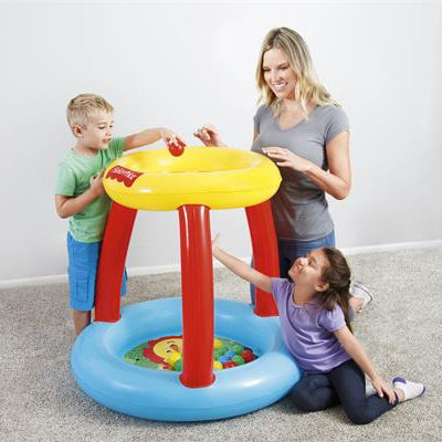 Piscina Inflable de Pelotas Fisher-Price Animales Amigos