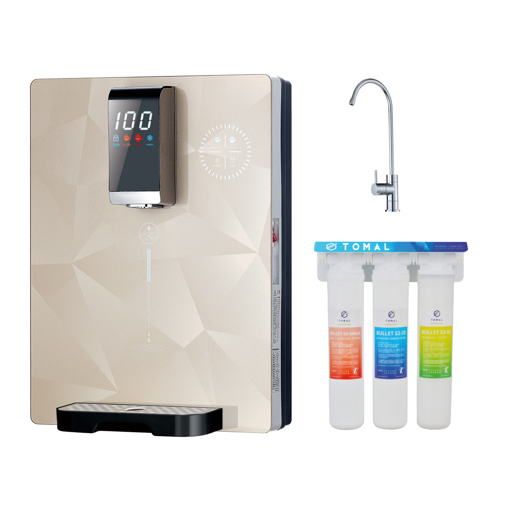 FreshDew®+ Hot & Cool Dispenser + 3 Filters + NSF Tap