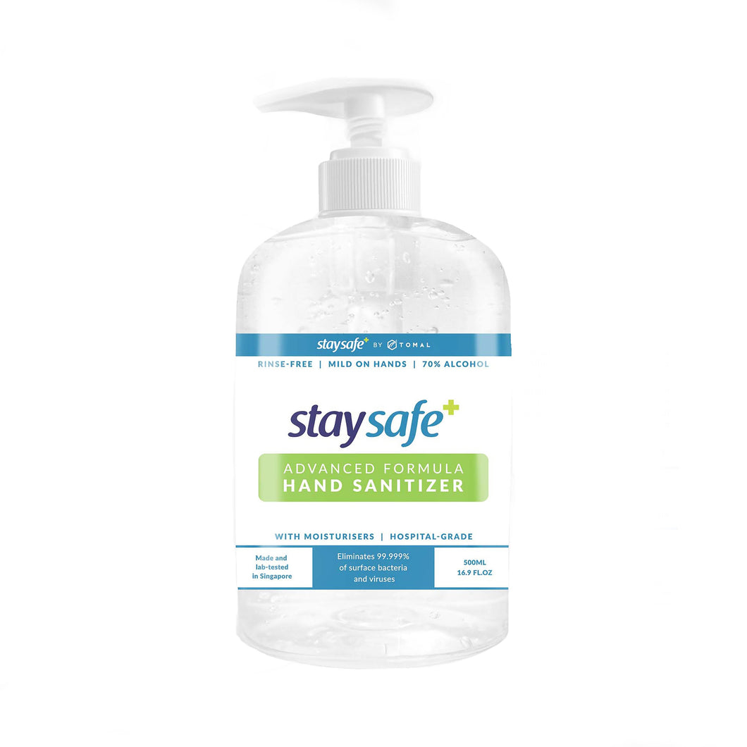 StaySafe™ Hand Sanitiser 500ml