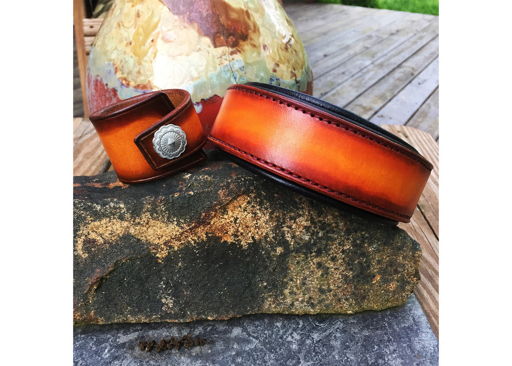 Vintage Fade Cherry Sunburst Collar