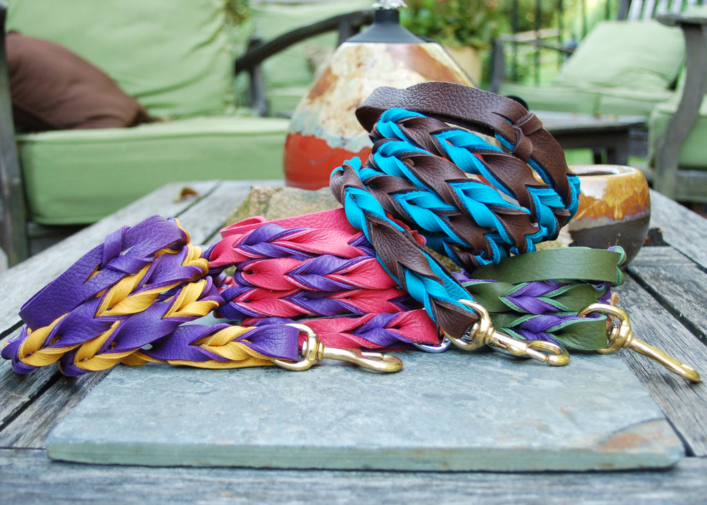 Double Braided Bullhide Leash