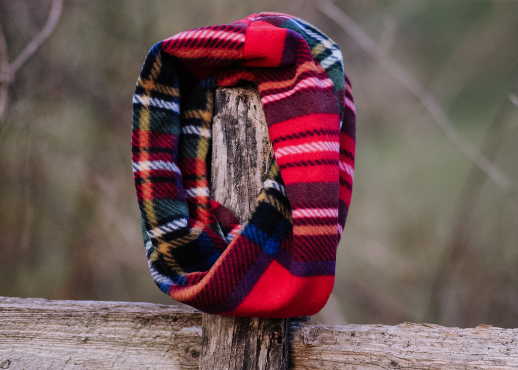 Toboggan Plaid Ruff