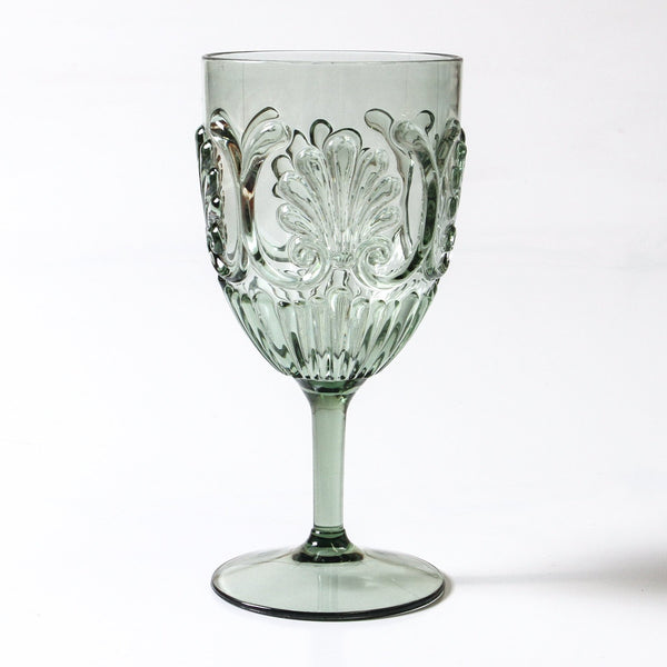 Flemington Acrylic Wine Glass | Green