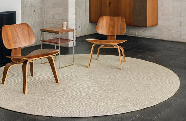 Armadillo & Co Braid Chalk Rug